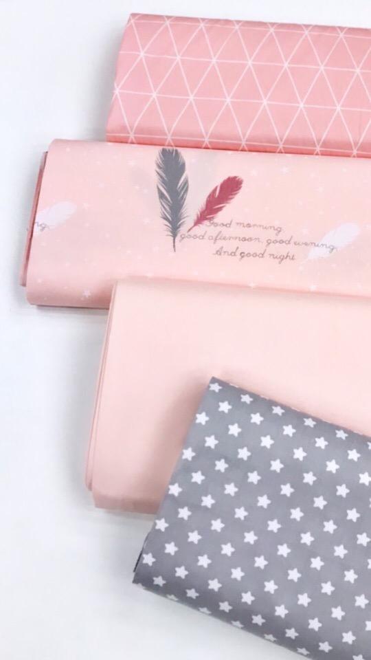 Ткань для декора комнаты для девочки