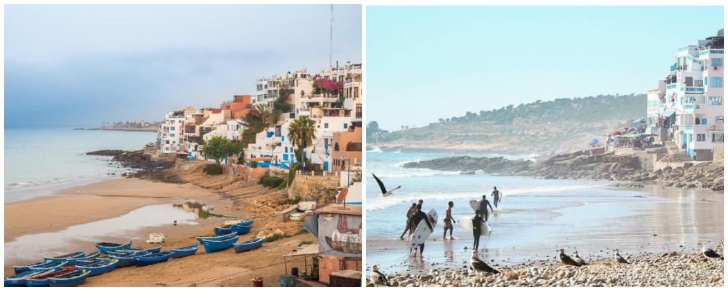 Русский серфинг в Марокко