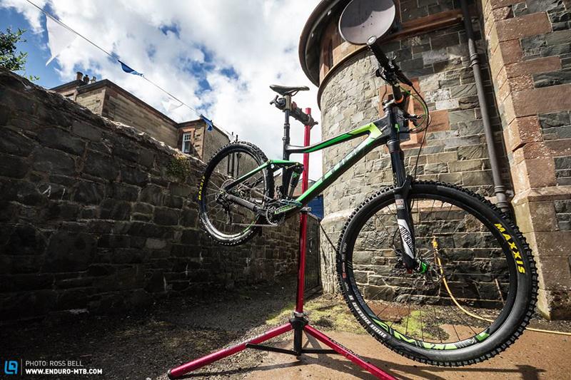 Помытый велосипед