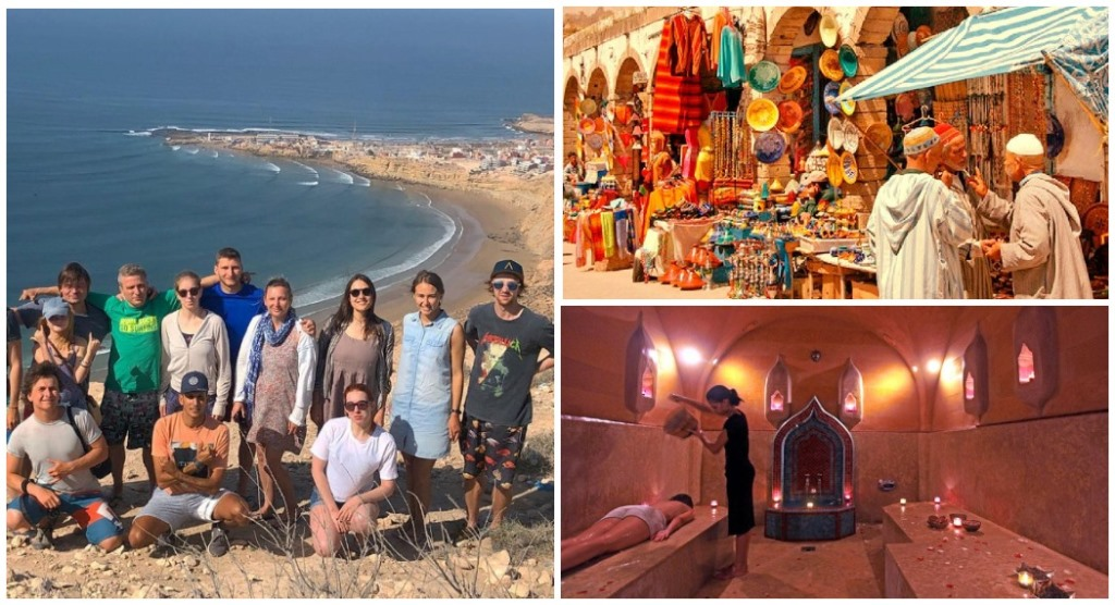 Серфинг и экскурсии в Марокко