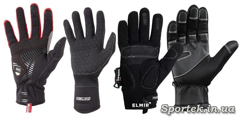Анти скользящее покрытие на велосипедных перчатках