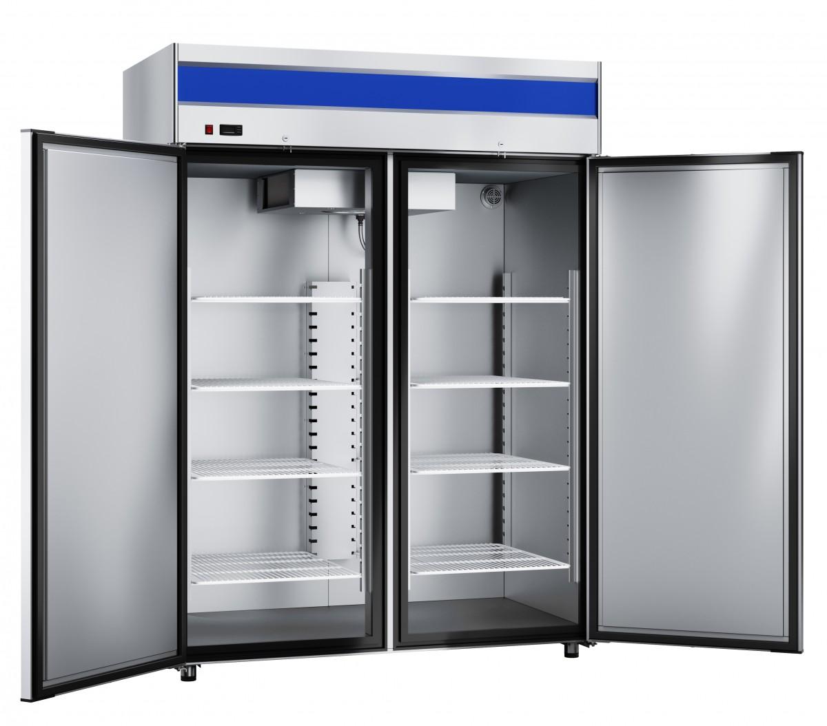 двухдверные холодильные шкафы