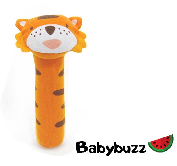 """Погремушка """"Веселые зверята"""" Тигрёнок Babybuzz"""