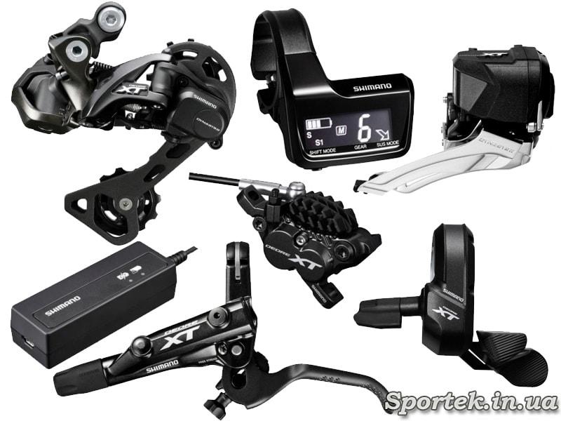 Оборудование Deore XT Di2 для MTB велосипедов
