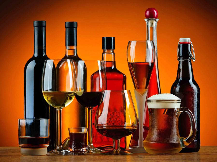 Типы алкогольных напитков