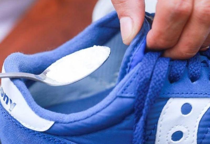Убрать запах в кроссовках - 2