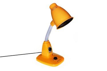 Принцип работы инфракрасной лампы
