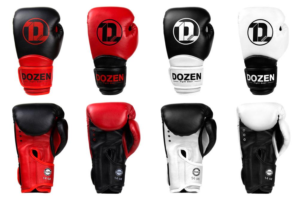 Линейка боксёрских перчаток Dozen Dual Impact