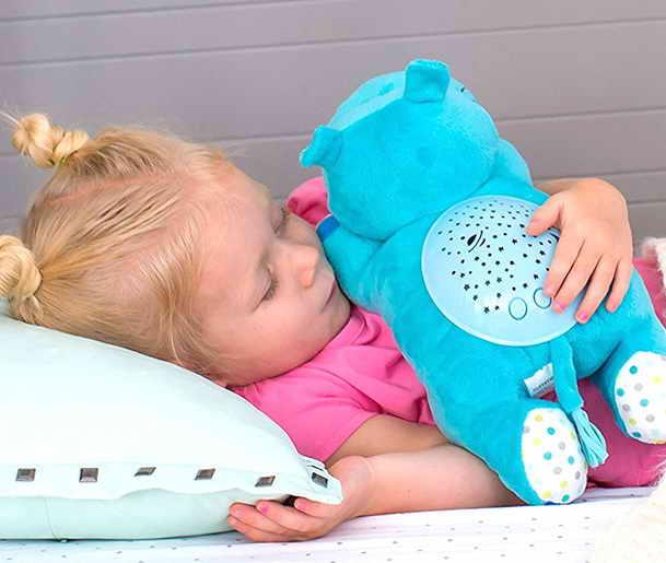 Дети любят ночник Hippo