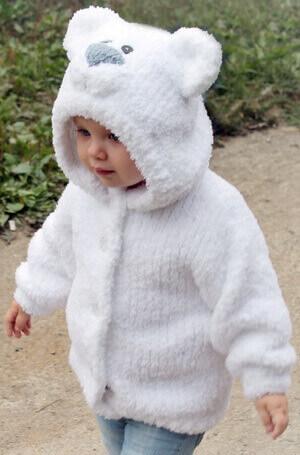 Куртка детская из пряжи Софти