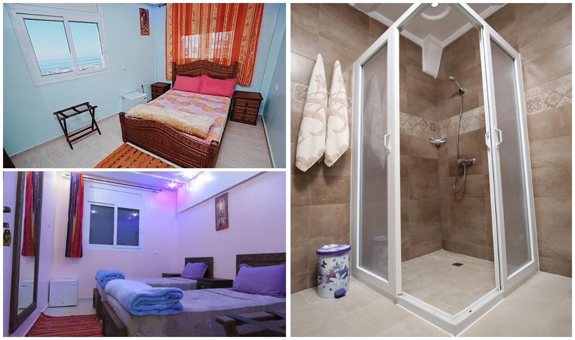 Номер с ванной в кемпе Марокко