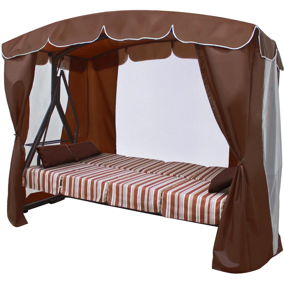 Дефа Люкс шоколад кровать