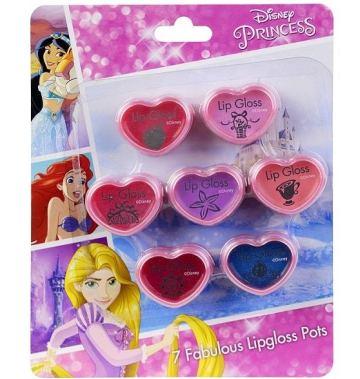Набор детской косметики для губ Princess (7уп)
