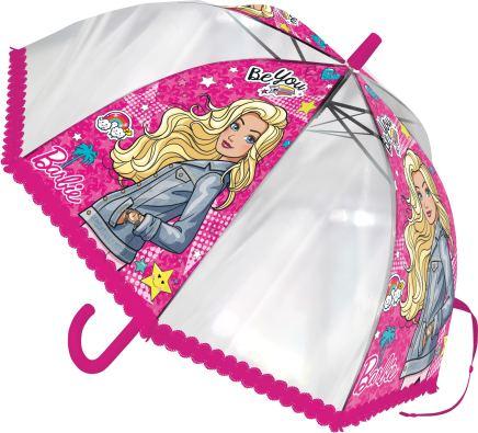 Детский зонтик-трость Barbie