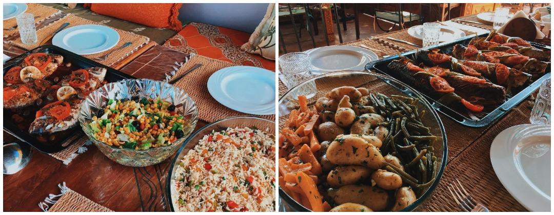 Марокканская кухня в кемпе