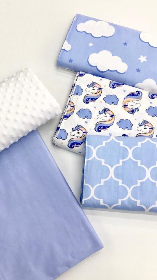 Ткань хлопок для декора комнаты мальчика
