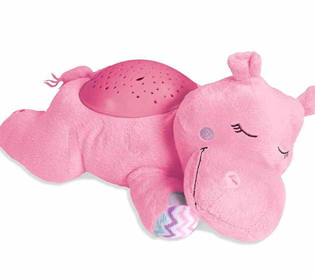 розовый Hippo проектор