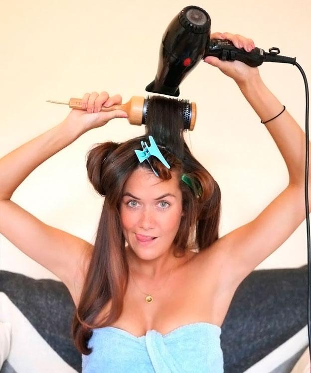 брашинг для волосся