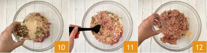 Фрикадельки на сковороде рецепт пошагово 10-12