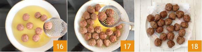 Тефтели из фарша на сковороде рецепт пошагово 16-18