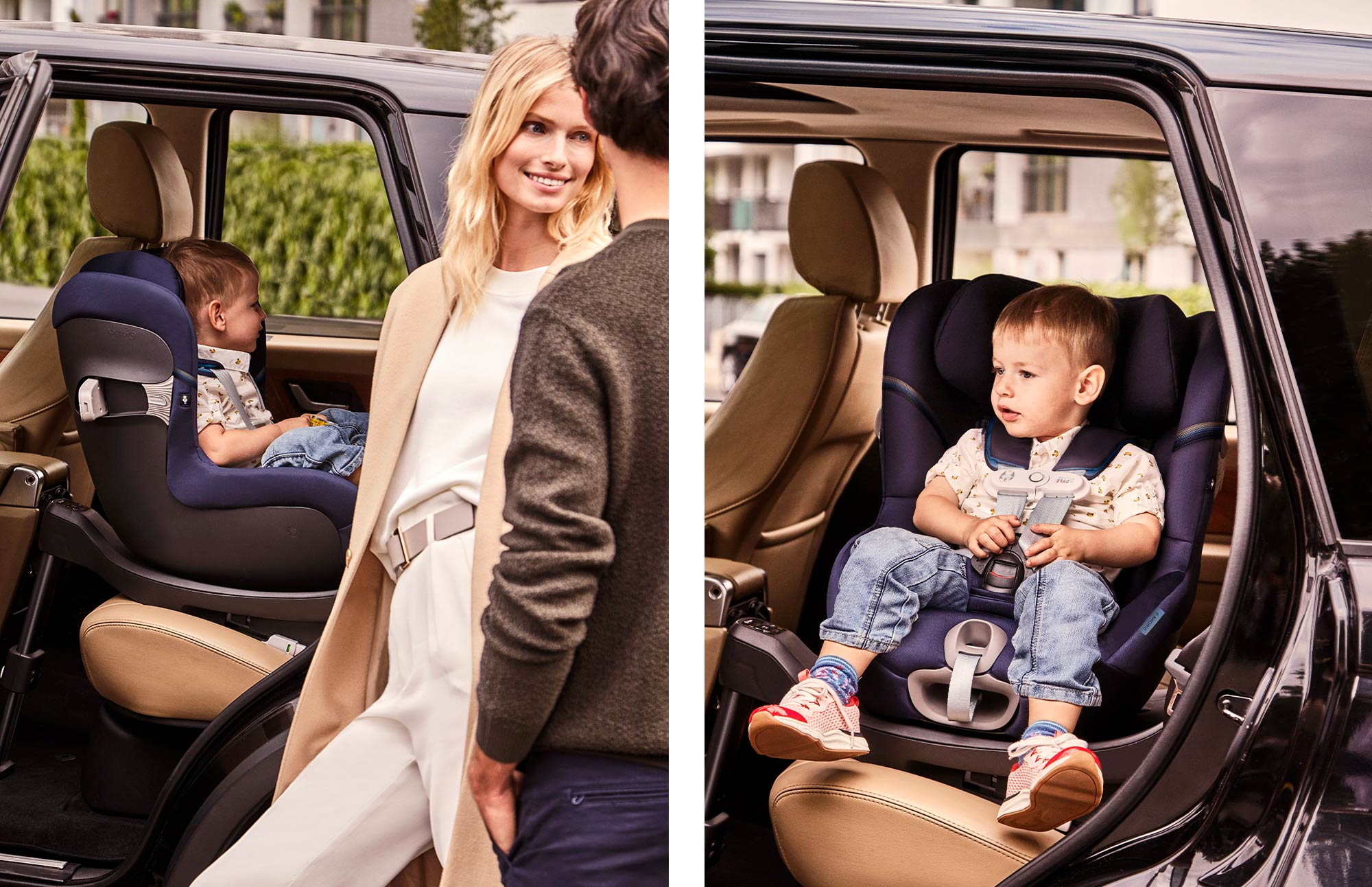 Автокресло, повернутое против движения - Безопасная езда против движения с рождения и примерно до 4 лет