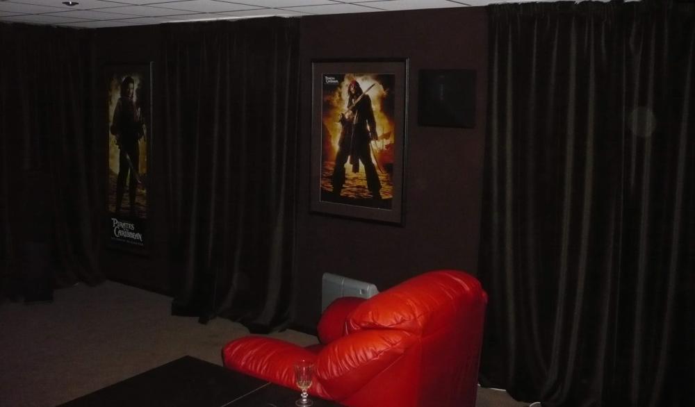 Домашний кинозал бюджетного уровня