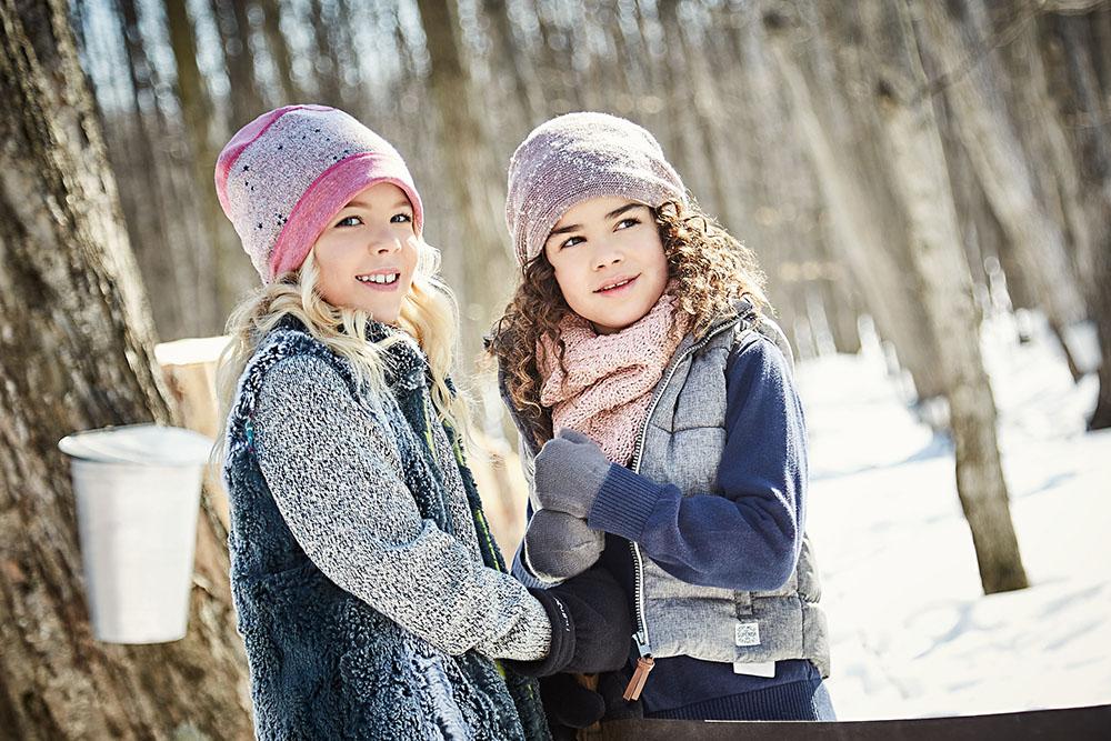 Модные шапки для девочек