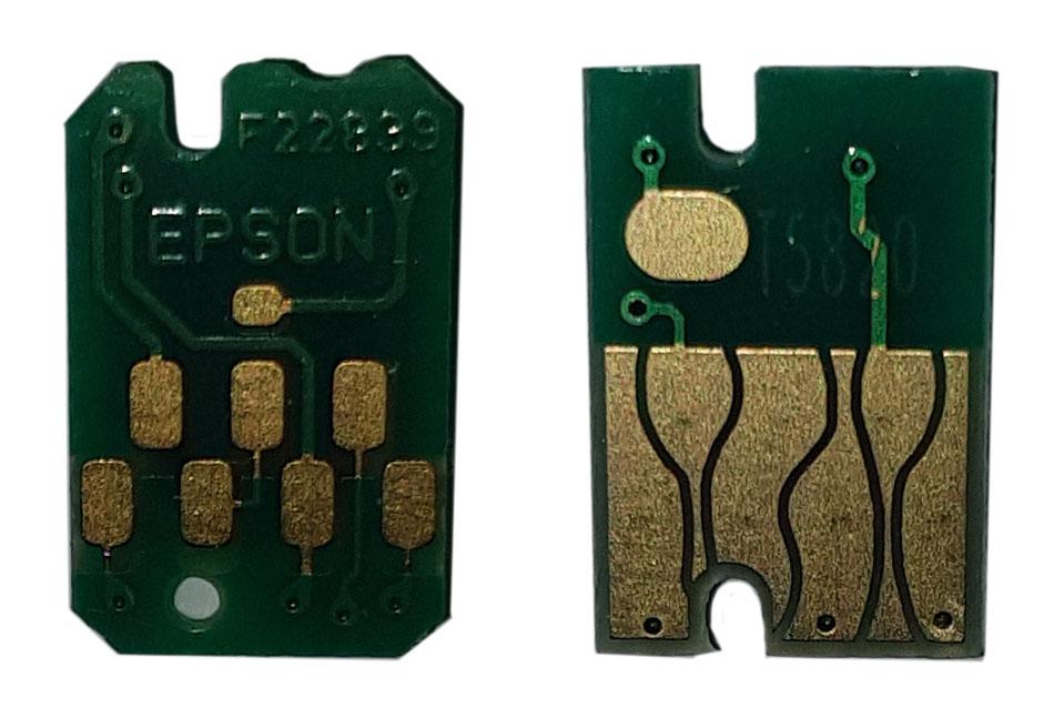 Оригинальный и неоригинальный чипы для Epson