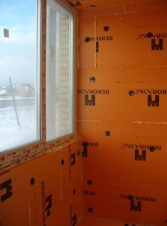 Утеплитель Пеноплэкс 50 мм применение для стен