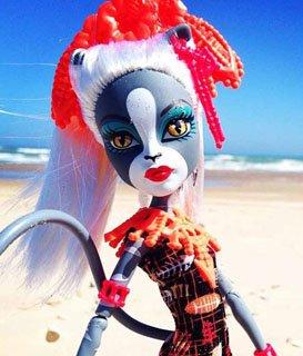 Кукла Мяулодия, серия Монстры отдыхают, Monster High