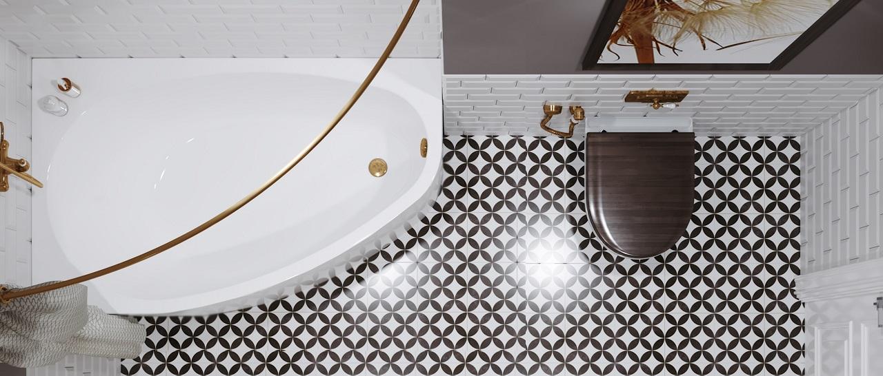 Асимметричная ванна