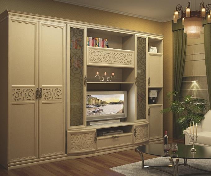 Александрия рустика Мебель для гостиной