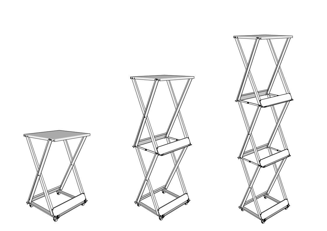Модульная система для хранения колес варианты комплектации