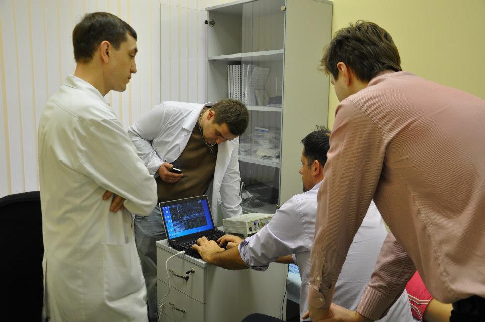 Система диагностики мышц