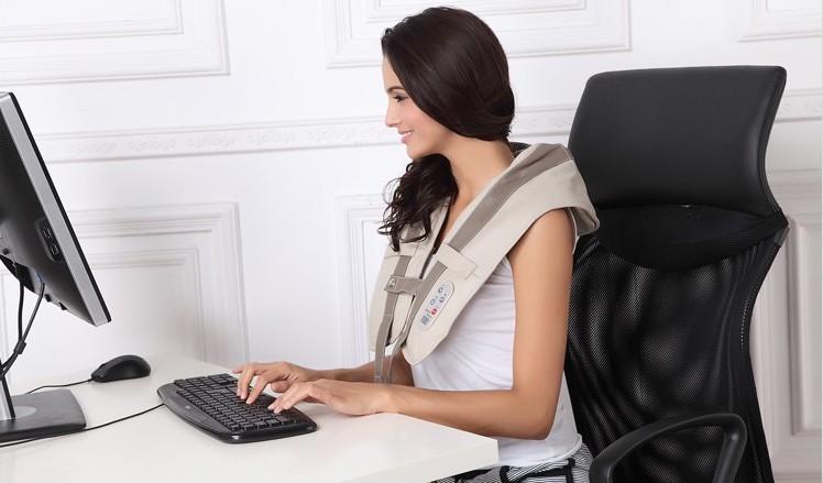 Массажёр для спины, плеч и шеи Cervical Massage Shawls