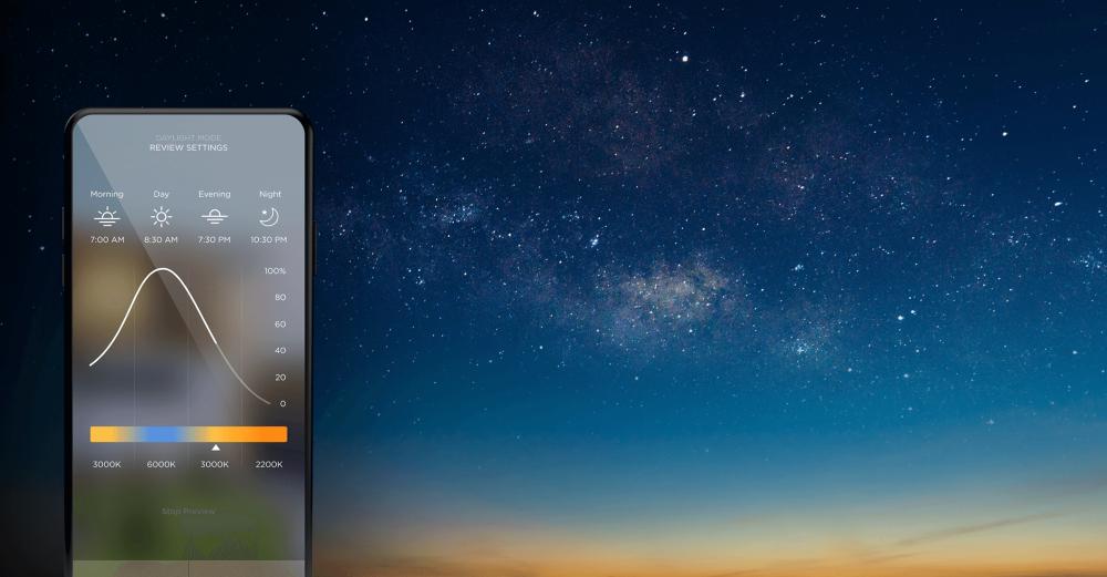 Savant Dailight Mode - режим контроля освещенности