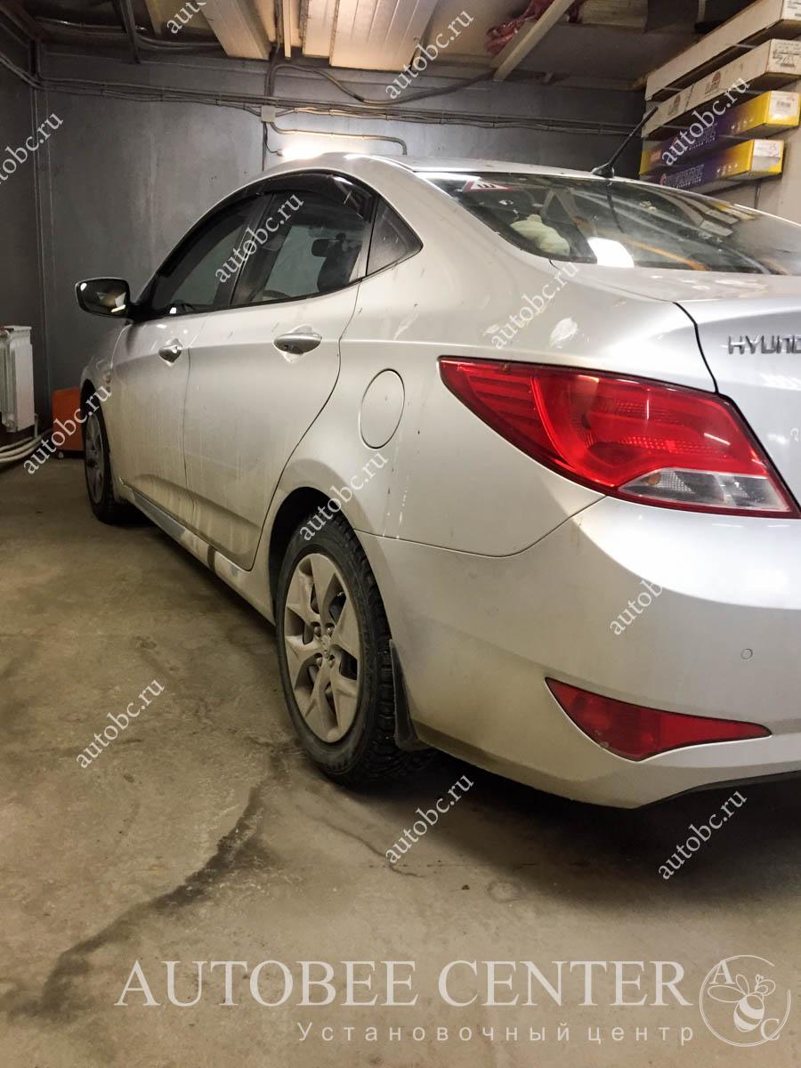 Hyundai Solaris (установка музыки)