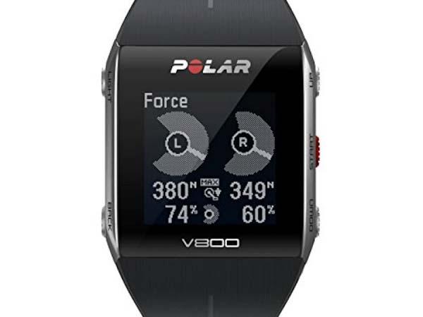 Polar V800 с данными о мощности