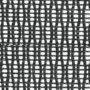 Сетчатая ткань с арамидным волокном, цвет черный с черными подлокотниками и подголовником