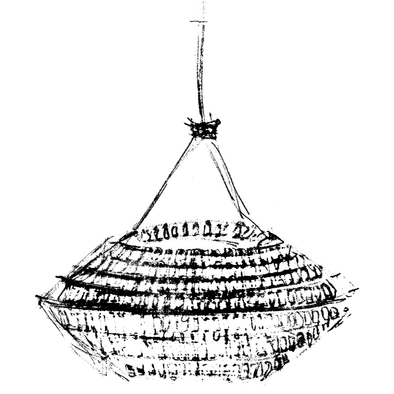 Светильник Kika от Terzani