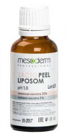 Липосомальный пилинг для лица Лакто Пил (Молочная кислота 35%, Ph1,8 ) 30мл, MESODERM