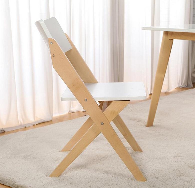 Красивый стул складной для кухни