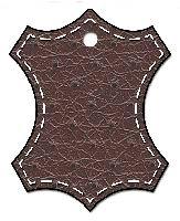 Кожа NewLeathe темно-коричневая, перфорированная