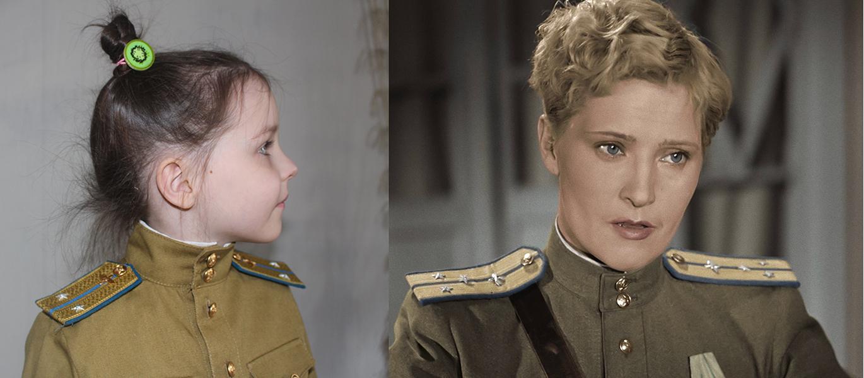 Детские погоны на форму вов образца 1943 г.