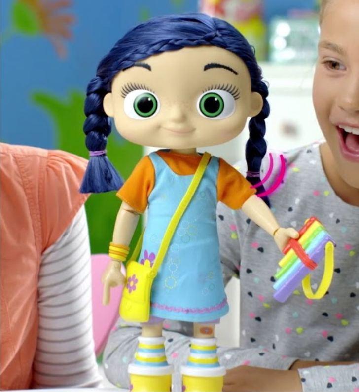 Интерактивная кукла Wissper