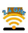 Logitech® Advanced 2.4 GHz wireless