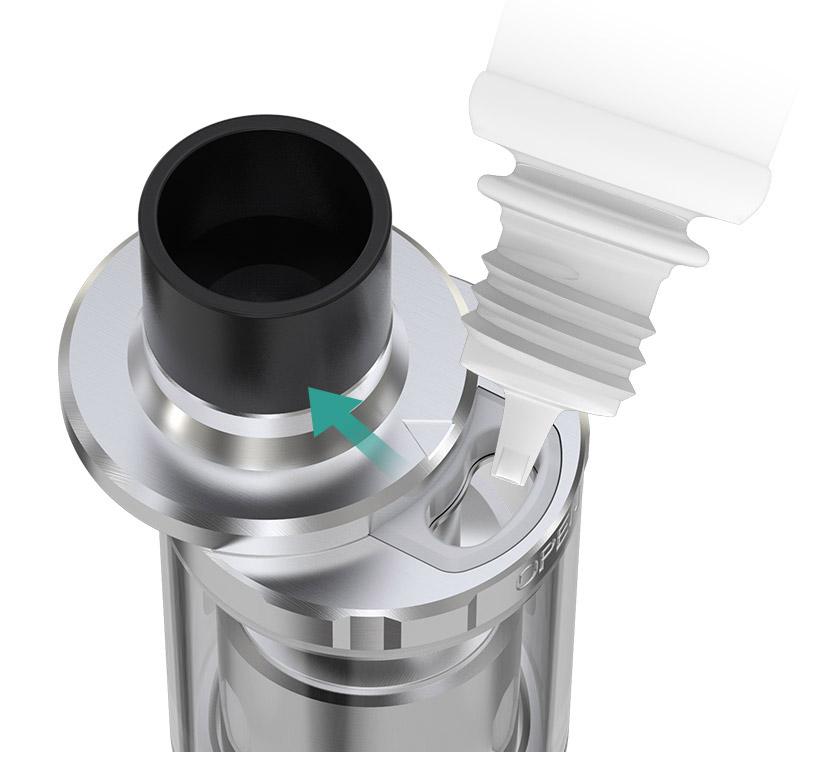 Удобная Выдвижная Верхняя Система Заправки Атомайзера Eleaf MELO 300