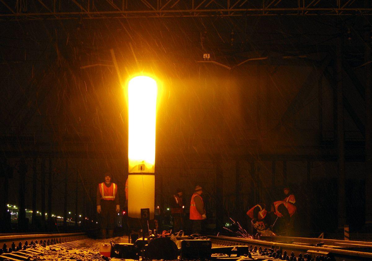 Фото аварийная осветительная установка световая башня с генератором