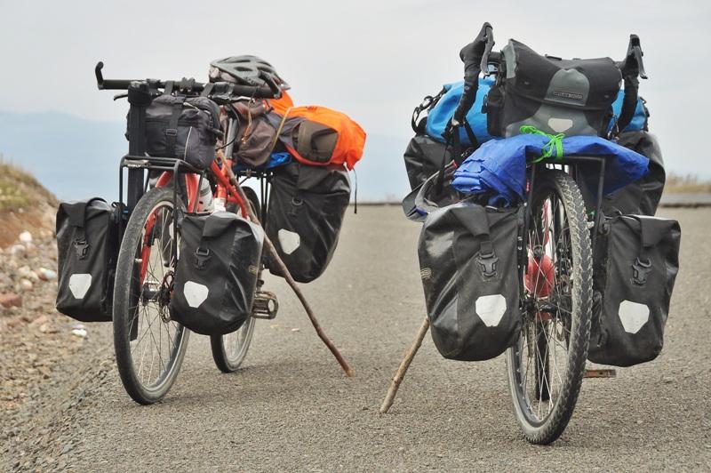 Велосипеды с велорюкзаками
