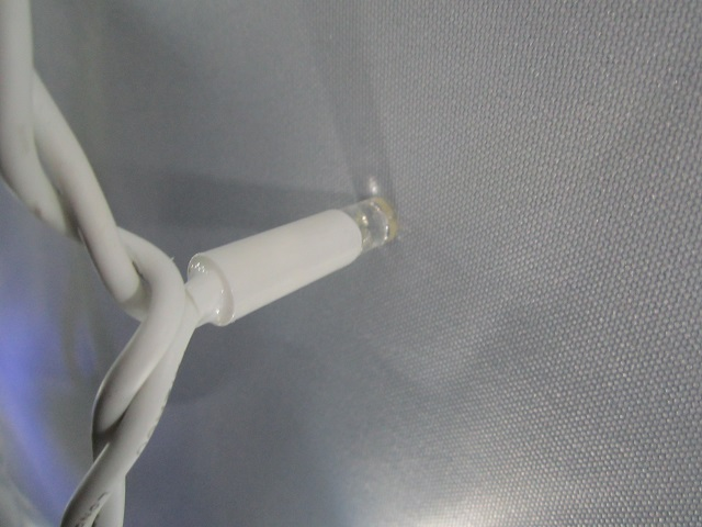 Провод гирлянды бахрома 3м на 0.7м 120 LED лед